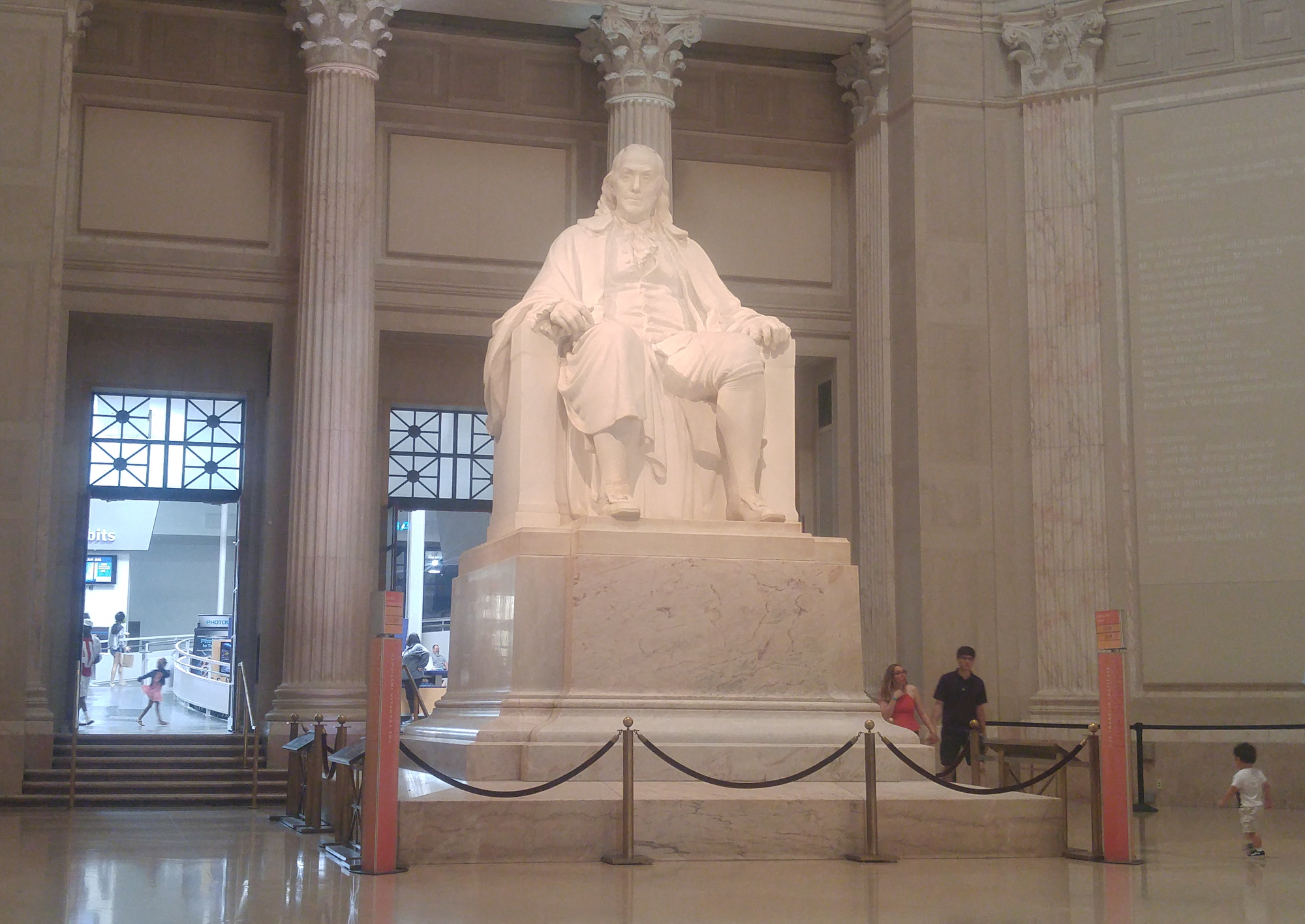 Visiting the Franklin Institute in Philadelphia